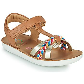 Schoenen Meisjes Sandalen / Open schoenen Shoo Pom GOA SALOME Bruin