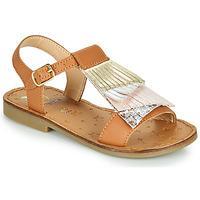 Schoenen Meisjes Sandalen / Open schoenen Shoo Pom HAPPY FALLS Bruin