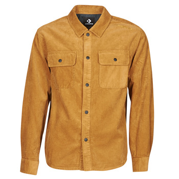 Textiel Heren Wind jackets Converse BUTTON DOWN SHIRT Bruin