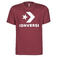 Textiel Heren T-shirts korte mouwen Converse STAR CHEVRON TEE Bordeau