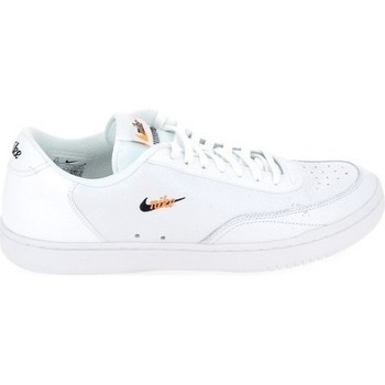 Schoenen Lage sneakers Nike Court Vintage Blanc Orange CT1726100 Wit