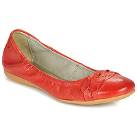 Schoenen Dames Ballerina's Dream in Green NERLINGO Rood