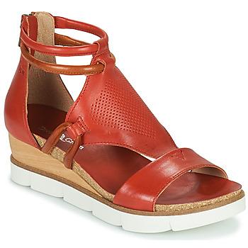 Schoenen Dames Sandalen / Open schoenen Dream in Green LIRABIEN Oranje
