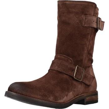 Schoenen Dames Laarzen Clarks DEMI FLOW Bruin