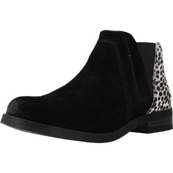 Schoenen Dames Laarzen Clarks DEMI2 BEAT Zwart