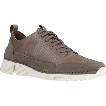 Schoenen Dames Lage sneakers Clarks TRI SPARK Grijs