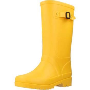 Schoenen Meisjes Regenlaarzen Igor W10115 Geel