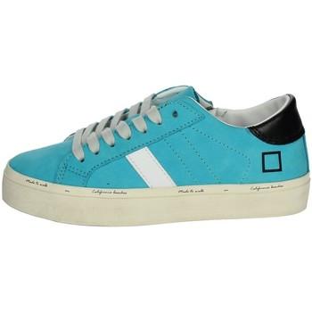 Schoenen Meisjes Lage sneakers Date J301 Sky-blue
