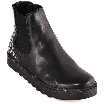 Schoenen Kinderen Laarzen Holalà HL0001L0002J Zwart