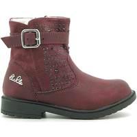 Schoenen Kinderen Laarzen Lulu LL140006S Rood