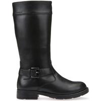 Schoenen Kinderen Hoge laarzen Geox J64A2A 00043 Zwart