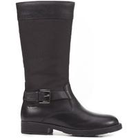 Schoenen Kinderen Hoge laarzen Geox J64A2A 043FU Zwart