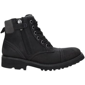 Schoenen Kinderen Laarzen Geox J643DA 04554 Zwart