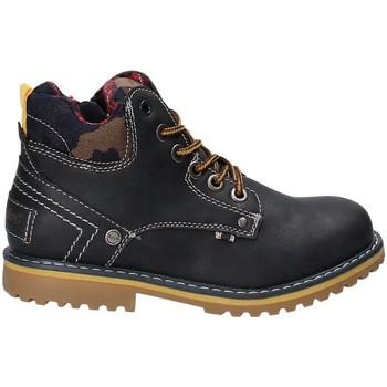 Schoenen Kinderen Laarzen Wrangler WJ17210 Blauw