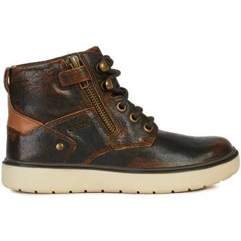 Schoenen Kinderen Laarzen Geox J947SA 0JHMW Bruin