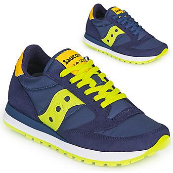 Schoenen Lage sneakers Saucony JAZZ ORIGINAL Blauw / Geel