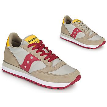 Schoenen Dames Lage sneakers Saucony JAZZ ORIGINAL Beige / Rood