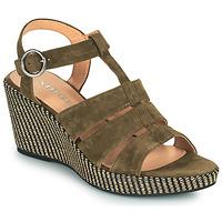 Schoenen Dames Sandalen / Open schoenen Adige FLORY V5 VELOURS MILITAIRE Kaki