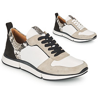 Schoenen Dames Sandalen / Open schoenen Adige VANILLE V5 PYTHON ICE Wit