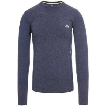 Textiel Heren T-shirts met lange mouwen Trespass  Marine Marl