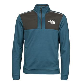 Textiel Heren Fleece The North Face MA 1/2 ZIP Blauw