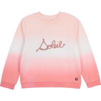 Textiel Meisjes Sweaters / Sweatshirts Carrément Beau Y15373-N44 Wit / Roze