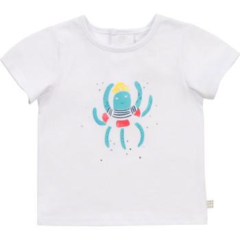 Textiel Jongens T-shirts korte mouwen Carrément Beau Y95275-10B Wit