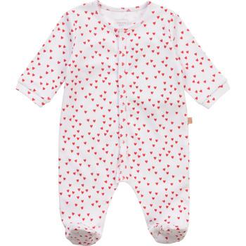 Textiel Meisjes Pyjama's / nachthemden Carrément Beau Y97101-10B Wit