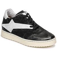 Schoenen Dames Lage sneakers Airstep / A.S.98 ZEPPA Zwart / Wit