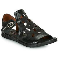 Schoenen Dames Sandalen / Open schoenen Airstep / A.S.98 RAMOS PERF Zwart