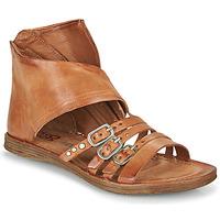 Schoenen Dames Sandalen / Open schoenen Airstep / A.S.98 RAMOS HIGH Camel