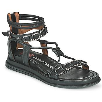 Schoenen Dames Sandalen / Open schoenen Airstep / A.S.98 POLA SQUARE Zwart