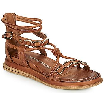 Schoenen Dames Sandalen / Open schoenen Airstep / A.S.98 POLA SQUARE Camel