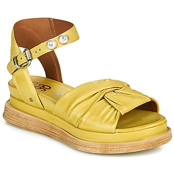 Schoenen Dames Sandalen / Open schoenen Airstep / A.S.98 LAGOS NODE Geel