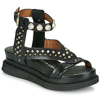 Schoenen Dames Sandalen / Open schoenen Airstep / A.S.98 LAGOS STUD Zwart
