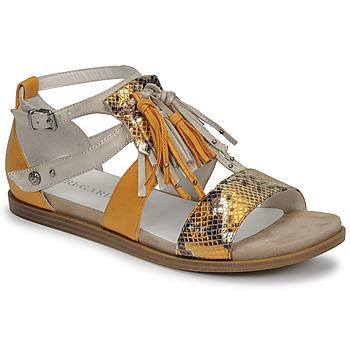 Schoenen Dames Sandalen / Open schoenen Regard BASTIL2 Geel
