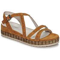 Schoenen Dames Sandalen / Open schoenen Regard CLAIRAC Bruin