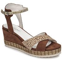 Schoenen Dames Sandalen / Open schoenen Regard DOUAI Bruin