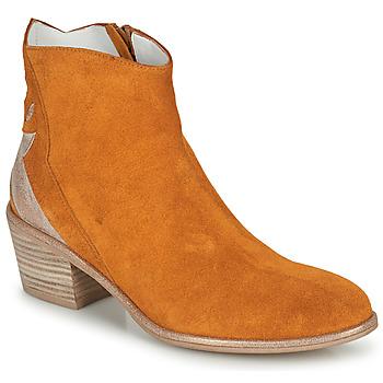 Schoenen Dames Laarzen Regard NEUILLY Bruin