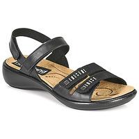 Schoenen Dames Sandalen / Open schoenen Romika Westland IBIZA 86 Zwart