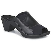 Schoenen Dames Leren slippers Romika Westland ST TROPEZ 244 Zwart