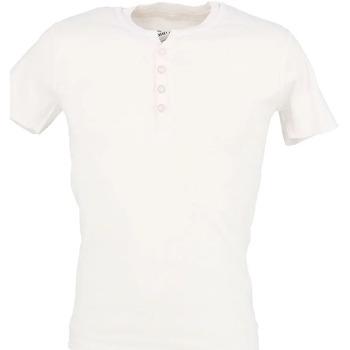 Textiel Heren T-shirts korte mouwen La Maison Blaggio  Wit