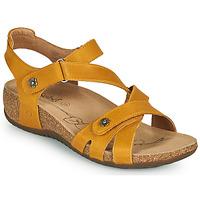 Schoenen Dames Sandalen / Open schoenen Josef Seibel NATALYA 11 Geel