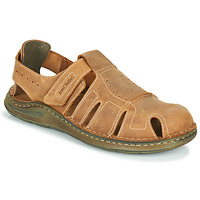Schoenen Heren Sandalen / Open schoenen Josef Seibel MAVERICK 01 Bruin