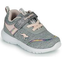 Schoenen Meisjes Lage sneakers Kangaroos KY-CHUMMY EV Grijs / Roze