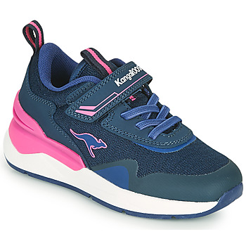 Schoenen Meisjes Lage sneakers Kangaroos KD-GYM EV Blauw / Roze