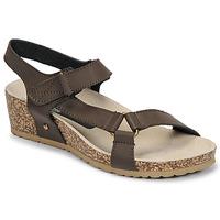 Schoenen Dames Sandalen / Open schoenen Spot on F10716 Bruin