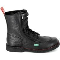 Schoenen Laarzen Kickers Meetickzip Noir Zwart