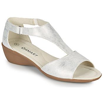 Schoenen Dames Sandalen / Open schoenen Damart 49019 Zilver