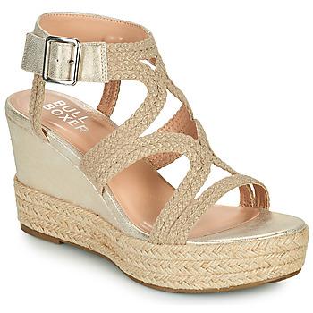 Schoenen Dames Sandalen / Open schoenen Bullboxer 175030F2S Beige